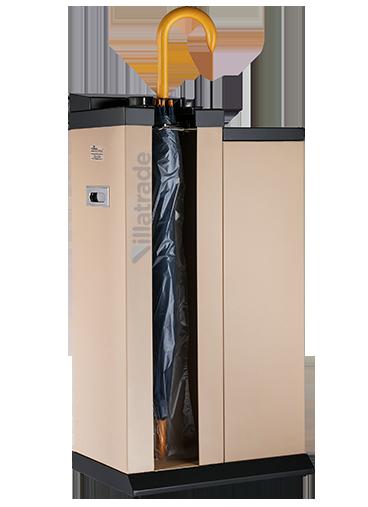 Embalador de Guarda-Chuvas Unipack Aço Carbono Com Lixeira VIT 4000W