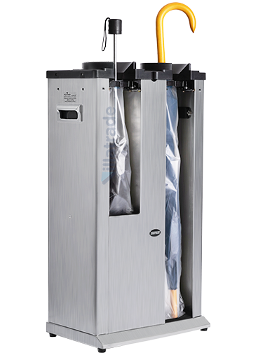 Embalador de Guarda-Chuvas Unipack Aço Inox Escovado Duplo VIT 3000