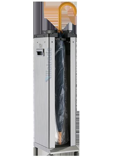 Embalador de Guarda-Chuvas Unipack Aço Inox Escovado VIT 2000