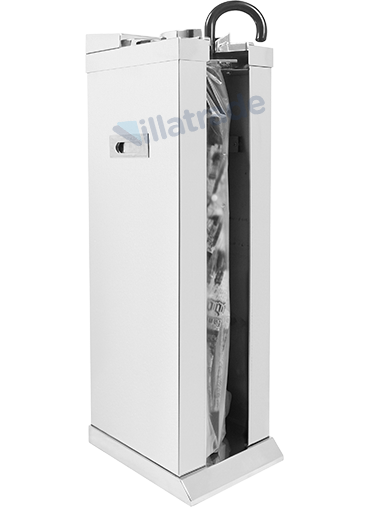 Embalador de Guarda-Chuvas Unipack Aço Inox Espelhado VIT 6000M