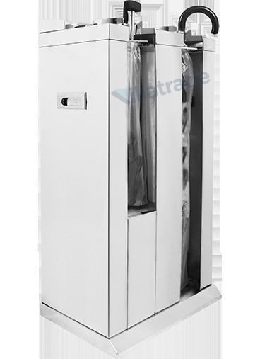 Embalador de Guarda-Chuvas Unipack Aço Inox Espelhado Duplo VIT 8000M