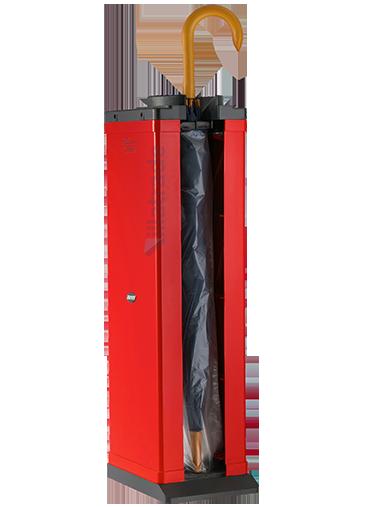 Embalador de Guarda-Chuvas Unipack ABS Vermelho VIT 1000