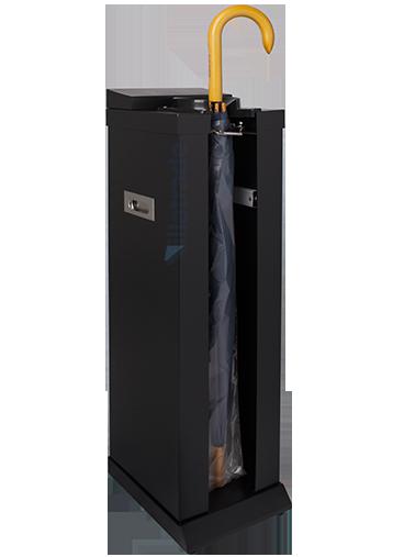 Embalador de Guarda-Chuvas Unipack Aço Inox Preto VIT 6000B