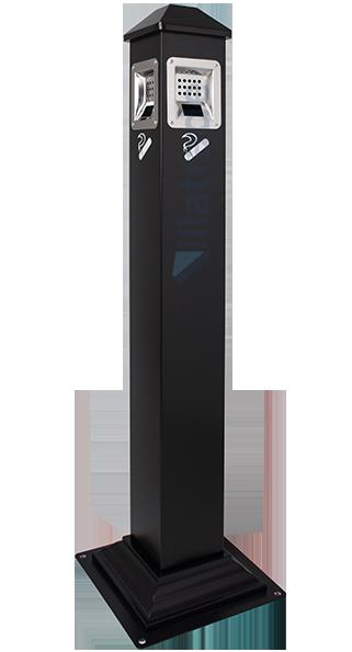 Bituqueira de Piso Aço Inox Preto BIT-200B