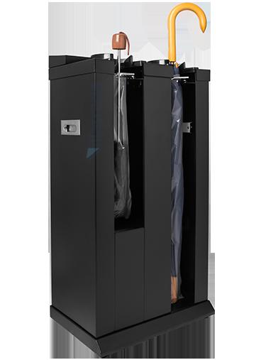 Embalador de Guarda-Chuvas Unipack Aço Inox Preto Duplo VIT 8000B